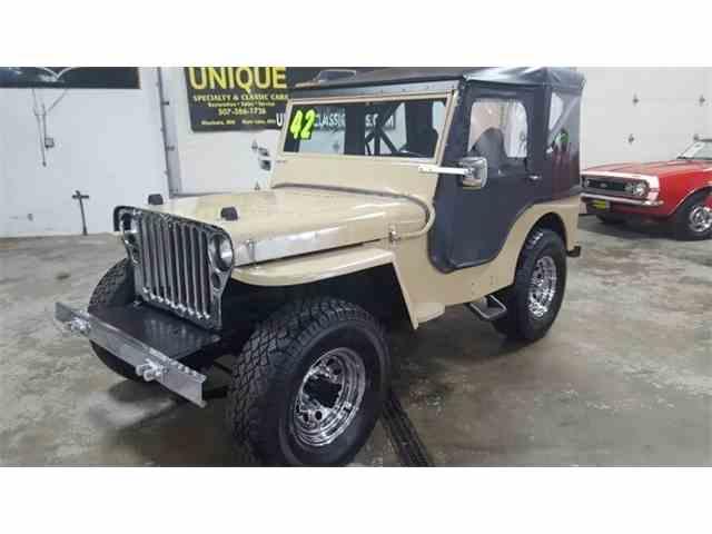 1942 Willys CJ    CJ | 992720