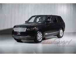 2016 Land Rover Range Rover HSE for Sale - CC-992961