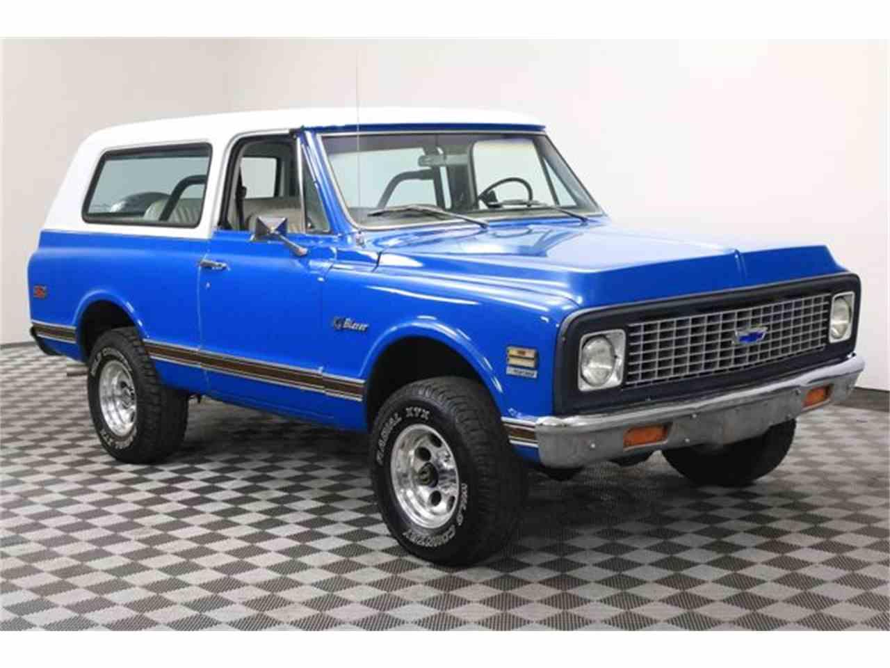 1971 Chevrolet Blazer for Sale | ClassicCars.com | CC-992971