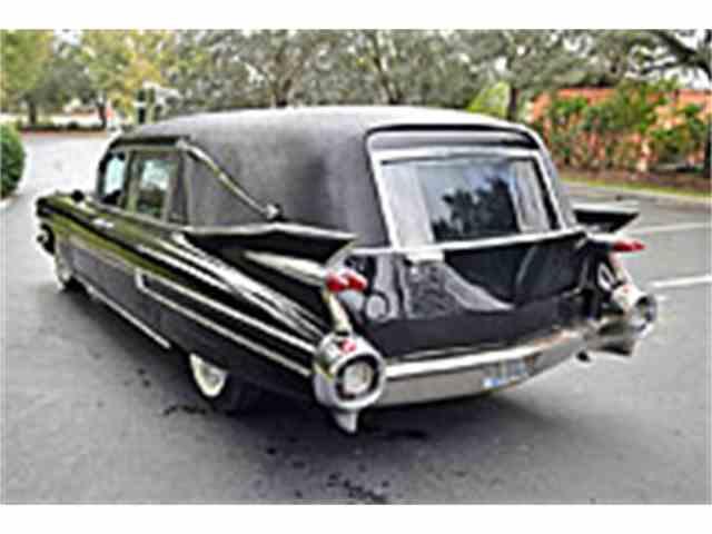 1959 Cadillac S&S Landau Victoria 3-Way Hearse | 990299