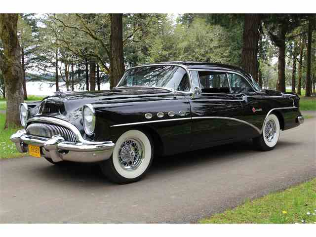 Picture of Classic '54 Buick Roadmaster Riviera Hardtop. FACTORY A/C! - $49,995.00 Offered by Charvet Classic Cars - LA9M