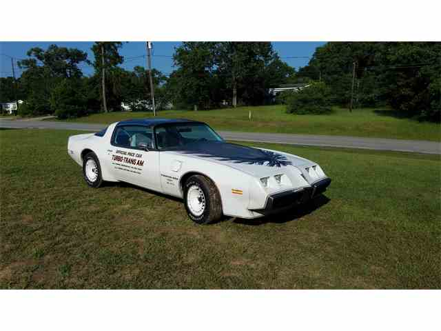 1980 Pontiac Firebird Trans Am Turbo Indy Pace Car Edition | 993119