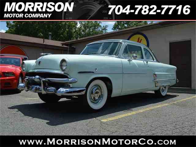 1953 Ford Customline For Sale On Classiccars Com