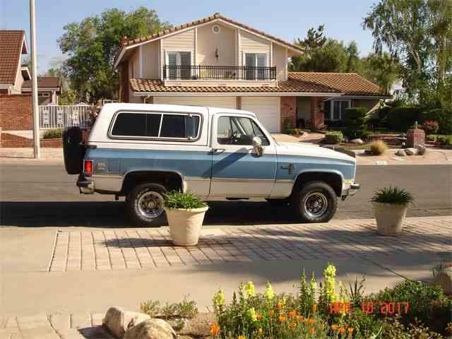 1983 Chevrolet  Blazer Diesel | 993340