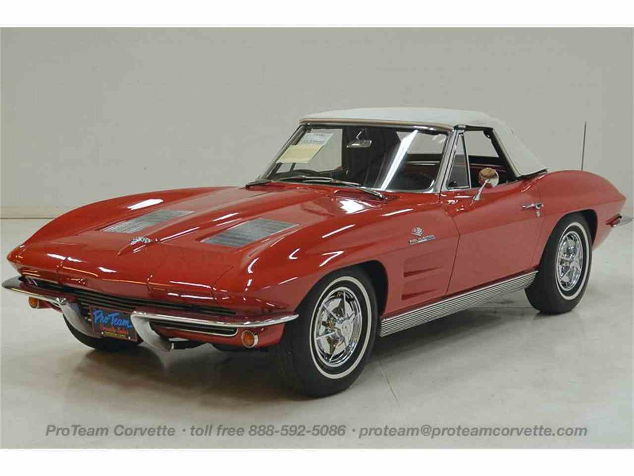 Large Picture of Classic '63 Chevrolet Corvette located in Ohio Offered by Proteam Corvette Sales - LALZ