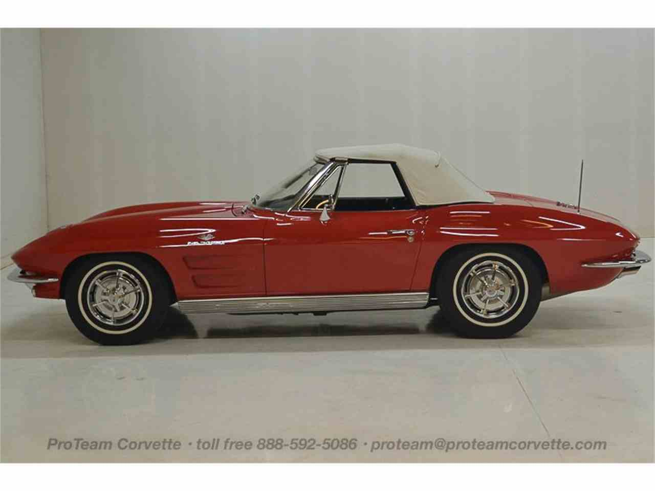 Large Picture of 1963 Corvette located in Napoleon Ohio - $69,995.00 Offered by Proteam Corvette Sales - LALZ