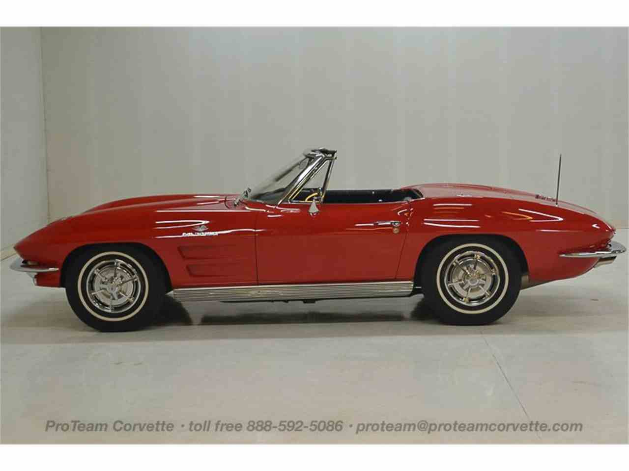Large Picture of '63 Chevrolet Corvette located in Ohio Offered by Proteam Corvette Sales - LALZ
