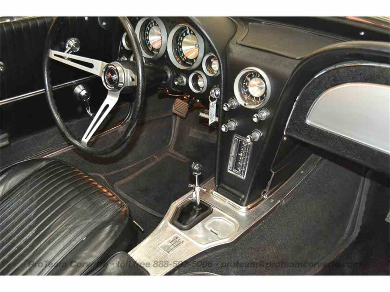 Large Picture of 1963 Chevrolet Corvette located in Napoleon Ohio - $69,995.00 Offered by Proteam Corvette Sales - LALZ