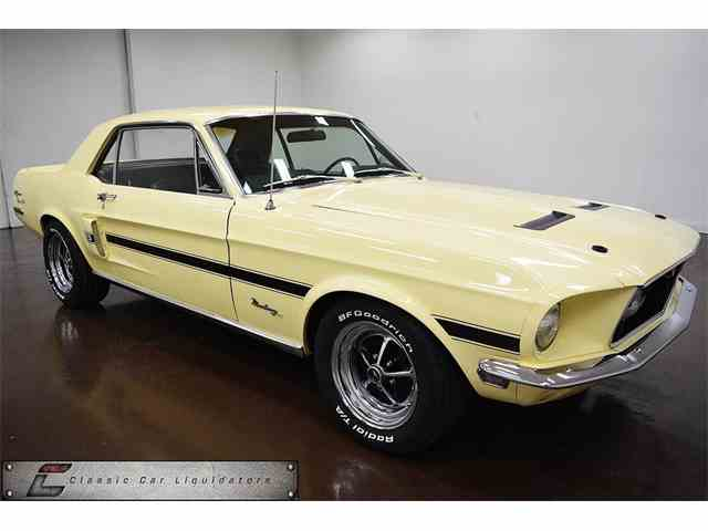 1968 FORD MUSTANG GT CALIFORNIA SPECIAL | 993568