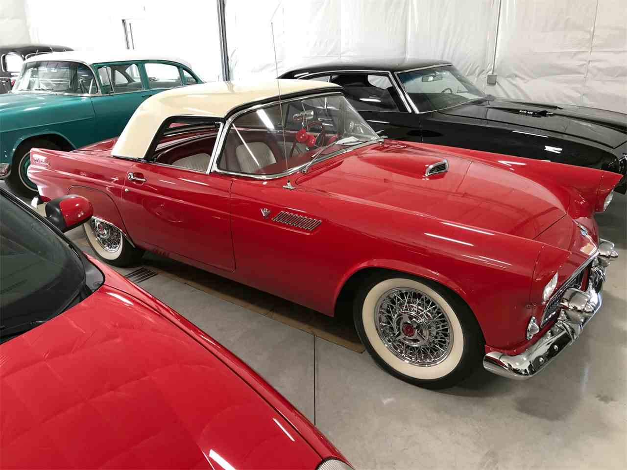 Large Picture of Classic 1955 Ford Thunderbird located in Brainerd Minnesota Offered by High Rollers Hot Rods and Classics - LAO7