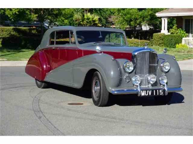 1951 Bentley Park Ward Coupe RHD | 994100