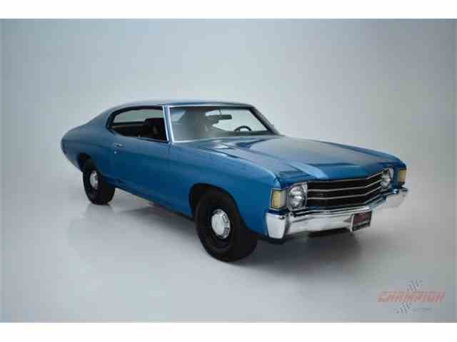 Picture of 1972 Chevrolet Chevelle Auction Vehicle Offered by Champion Motors - LB2A