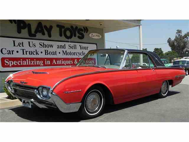 Picture of Classic 1962 Ford Thunderbird located in CALIFORNIA - $13,995.00 Offered by Play Toys Classic Cars - LB3E