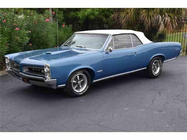 1966 Pontiac GTO for Sale on ClassicCarscom  45 Available