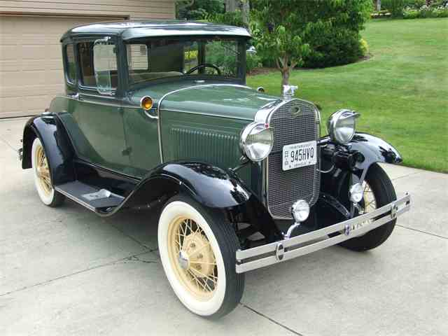 1931 Ford Model A Coupe Deluxe | 994381