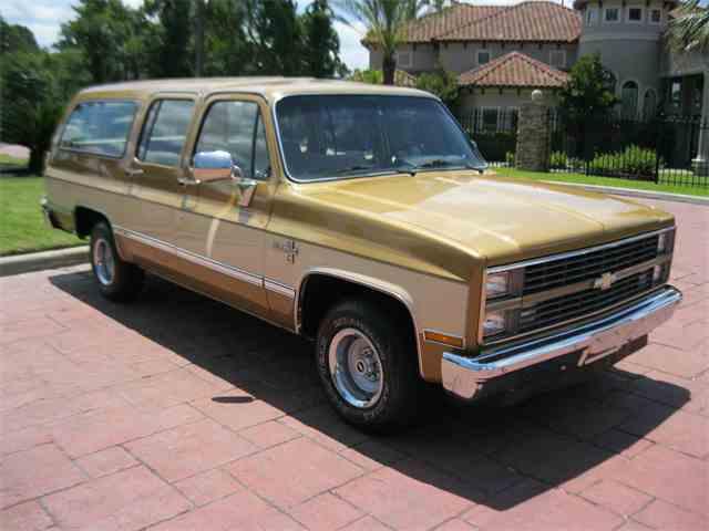 1984 Chevrolet Suburban | 994400