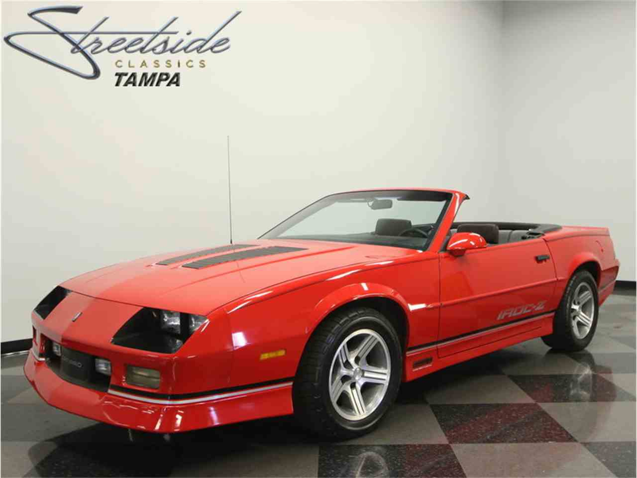 1990 chevrolet camaro iroc z 28 convertible for sale cc 990447. Black Bedroom Furniture Sets. Home Design Ideas