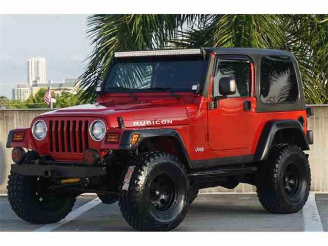 2003 Jeep Rubicon Vortek | 994510