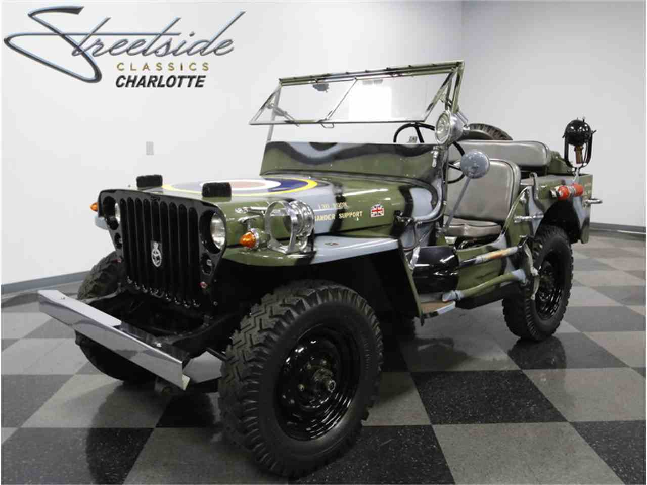 1945 willys mb military jeep for sale cc 990465. Black Bedroom Furniture Sets. Home Design Ideas