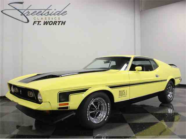 1971 Ford Mustang Mach 1 Cobra Jet | 994764