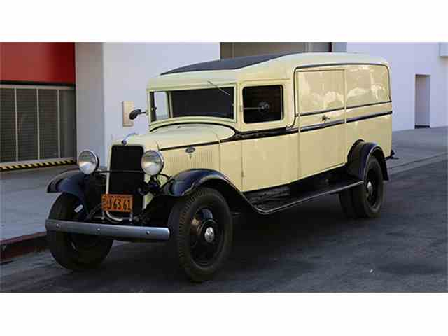 1934 Ford Panel Truck   994783