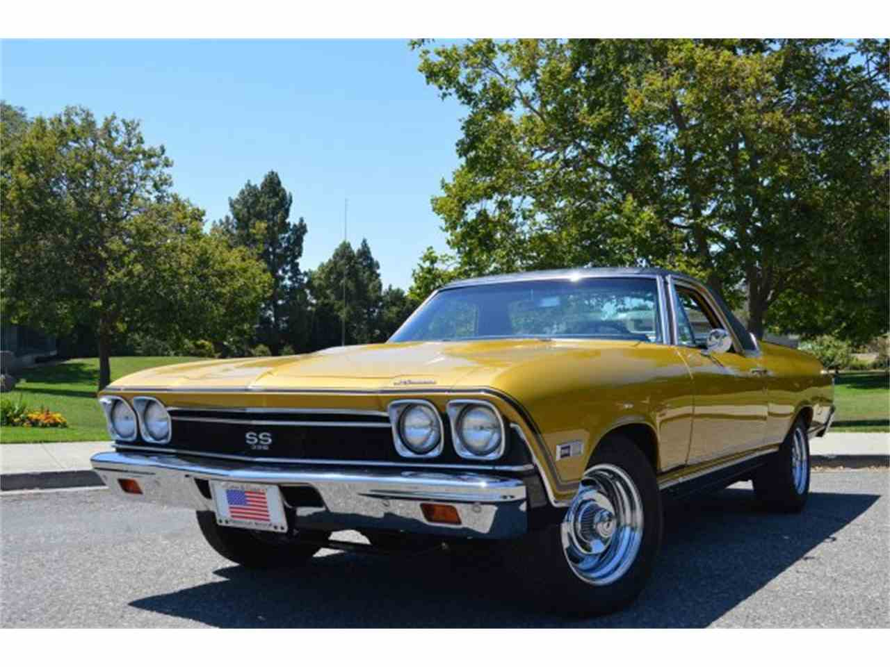 1968 chevrolet el camino ss for sale cc 994818. Black Bedroom Furniture Sets. Home Design Ideas