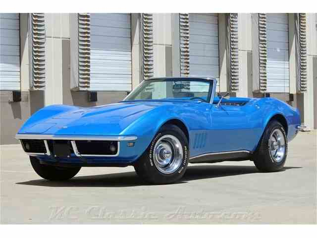 1968 Chevrolet Corvette Convertible 327/350hp 4spd 2 tops #s Matching | 990490
