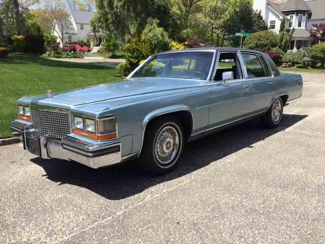 1987 Cadillac Fleetwood Brougham | 994939