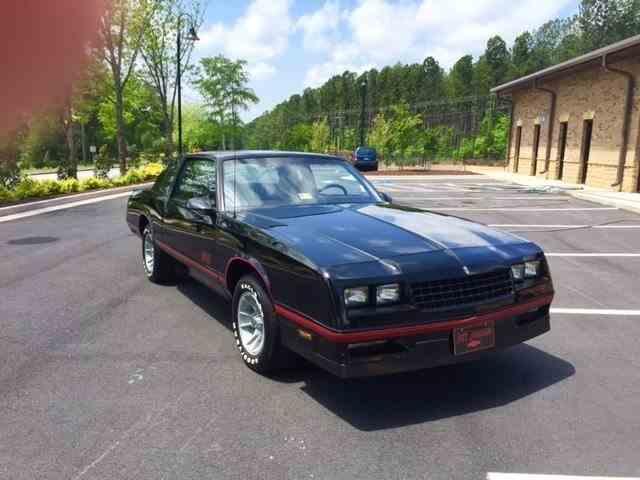 1987 Chevrolet Monte Carlo SS Aerocoupe | 995041