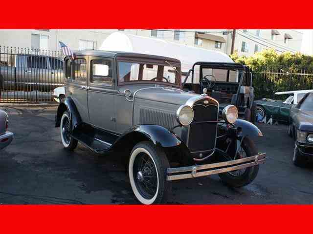 1931 Ford Model ATownSedan | 995082