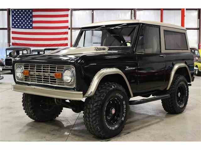 classifieds for classic ford bronco 120 available. Black Bedroom Furniture Sets. Home Design Ideas
