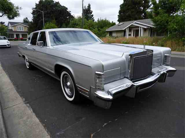1978 lincoln continental for sale on. Black Bedroom Furniture Sets. Home Design Ideas
