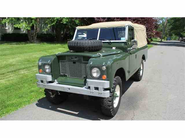 1967 Land Rover Series IIA | 995221