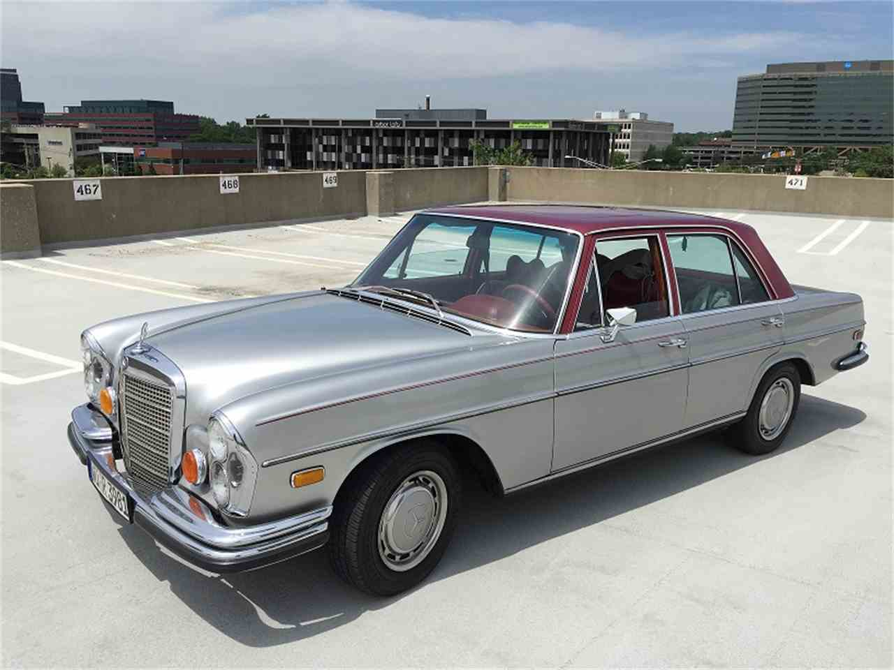1973 mercedes benz 280se for sale cc. Black Bedroom Furniture Sets. Home Design Ideas