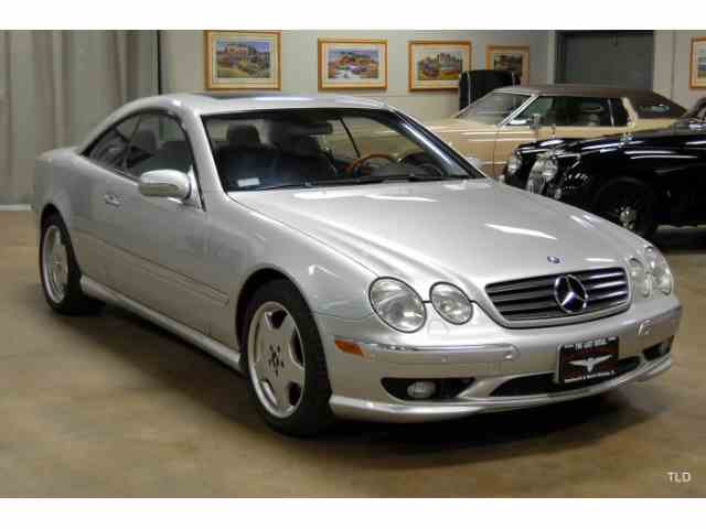 Classic mercedes benz cl class for sale on for Mercedes benz cl class for sale