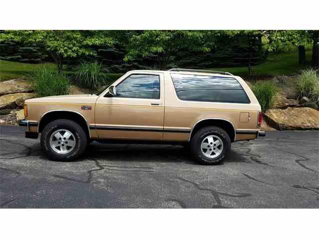1986 Chevrolet S10 Blazer   995425