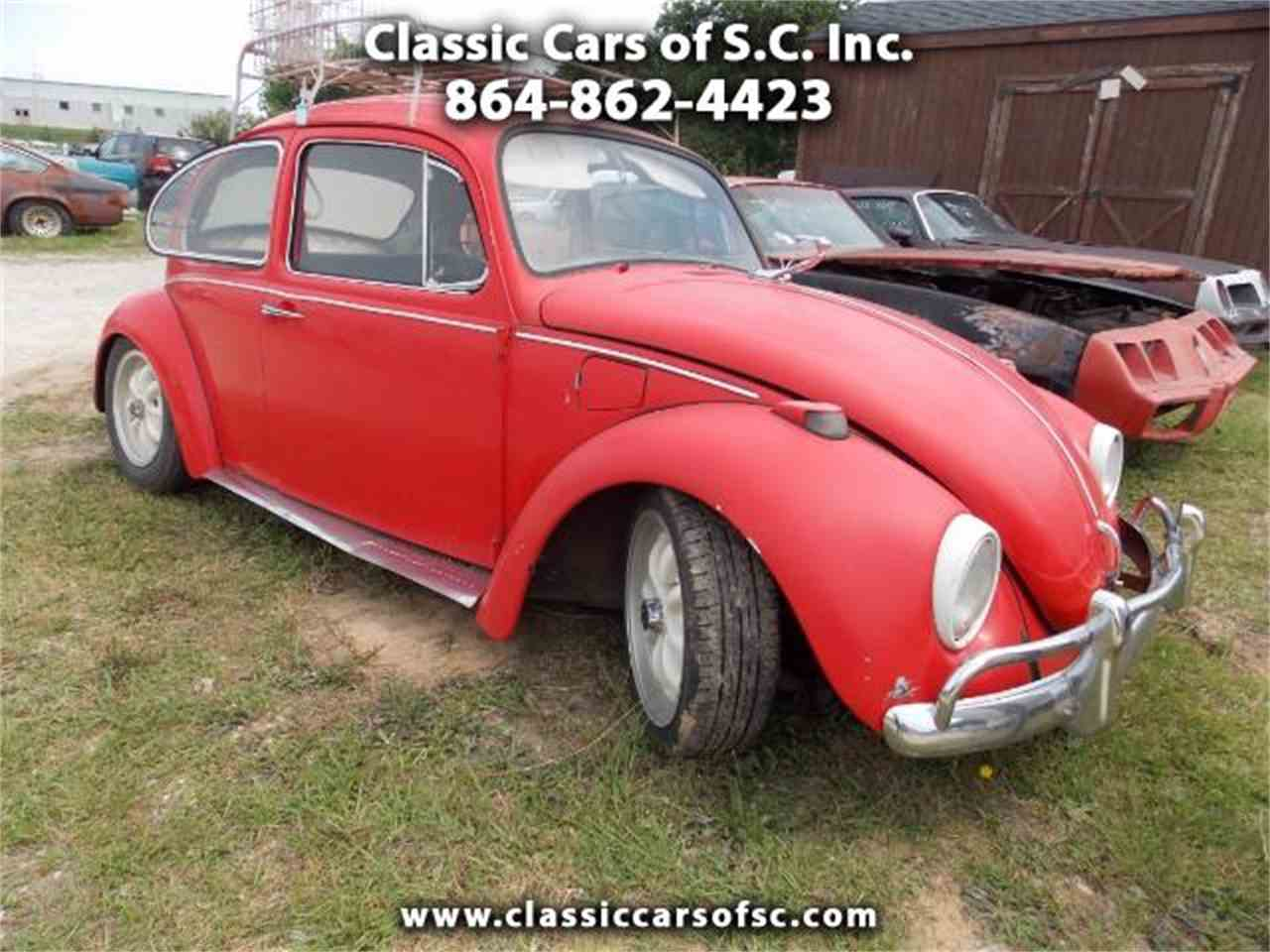 Large Picture of Classic '69 Beetle located in Gray Court South Carolina Offered by Classic Cars of South Carolina - LC46