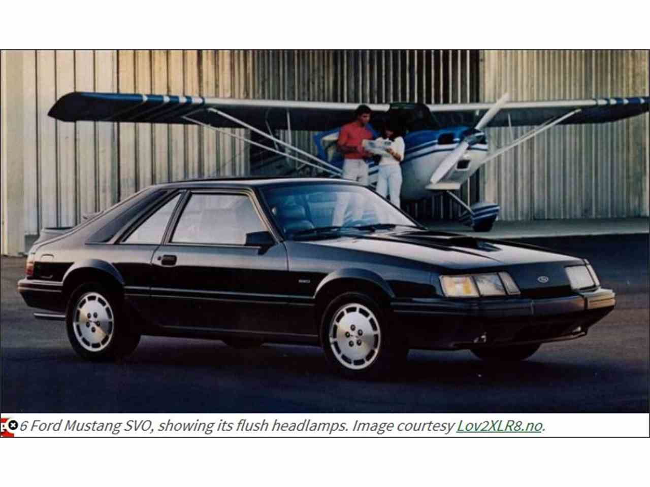 Large Picture of '86 Ford Mustang SVO - L8BI