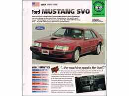 Picture of 1986 Ford Mustang SVO - $6,900.00 - L8BI