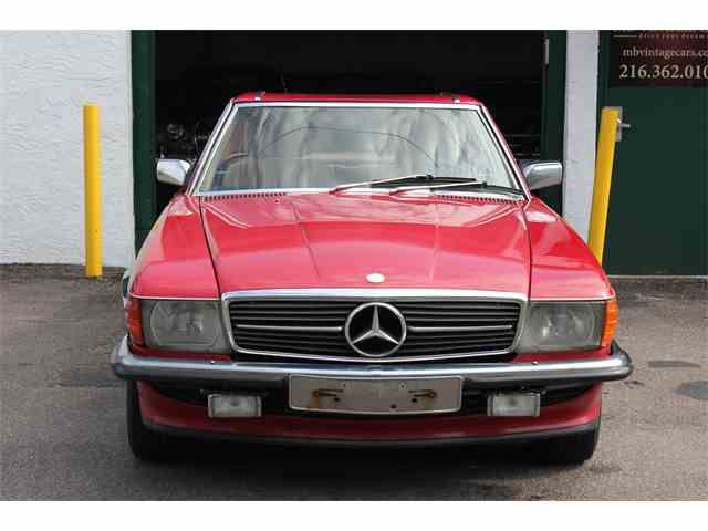 Classic mercedes benz 500sl for sale on for Mercedes benz 500 sl for sale