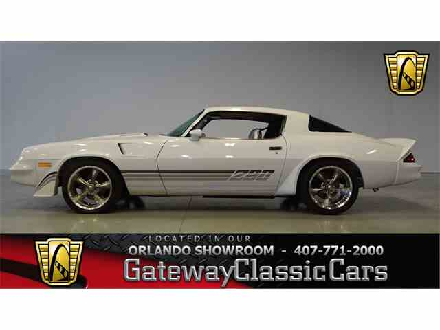 1981 Chevrolet Camaro For Sale On Classiccars Com 18