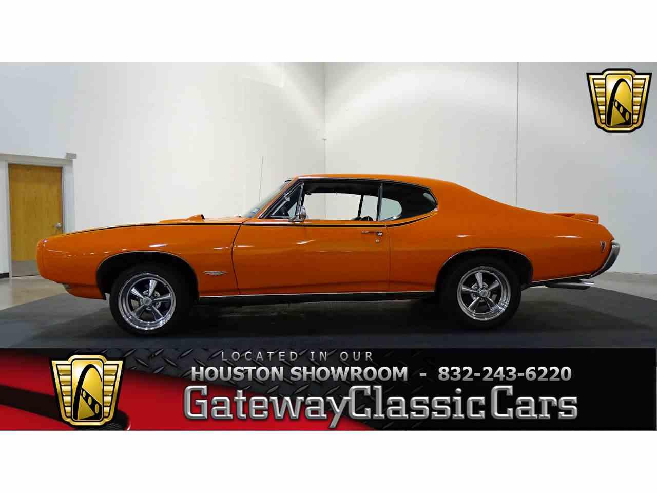 Classic Cars For Sale Houston Area: 1968 Pontiac GTO For Sale