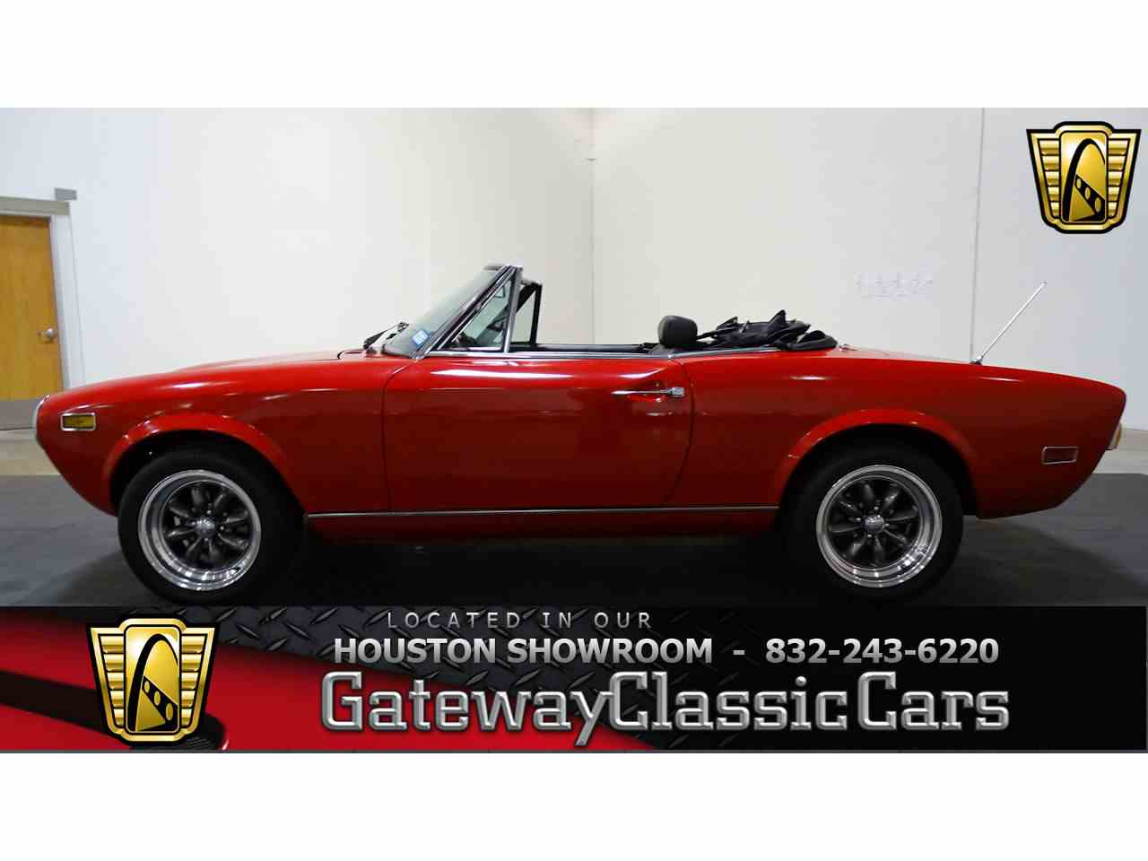 Classic Cars For Sale Houston Area: 1978 Fiat Spider For Sale