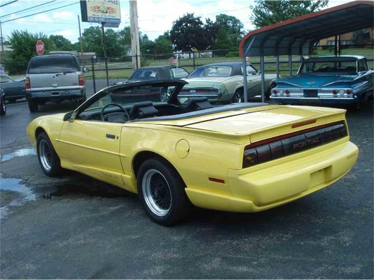 1991 Pontiac Firebird Trans Am For Sale Cc 995782
