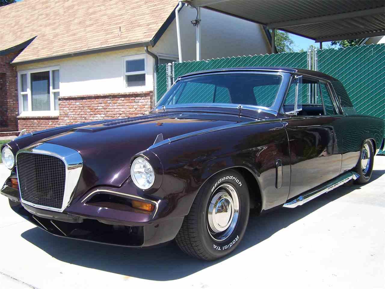 1962 studebaker hawk for sale cc 995807. Black Bedroom Furniture Sets. Home Design Ideas