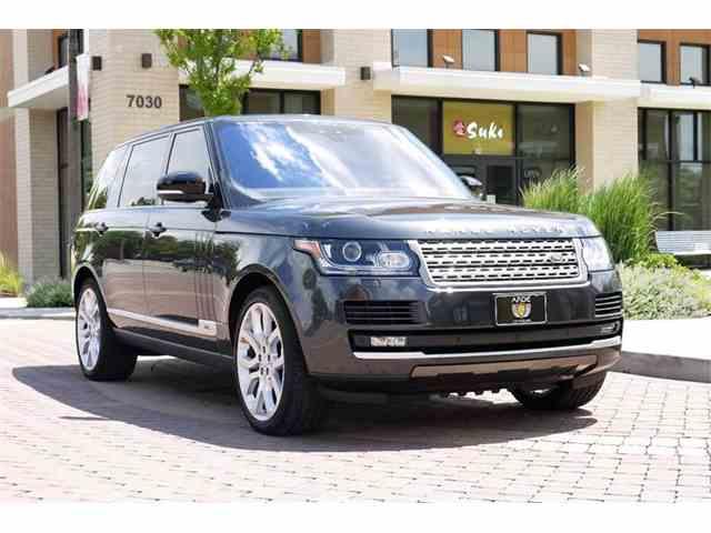 2017 Land Rover Range Rover | 995866