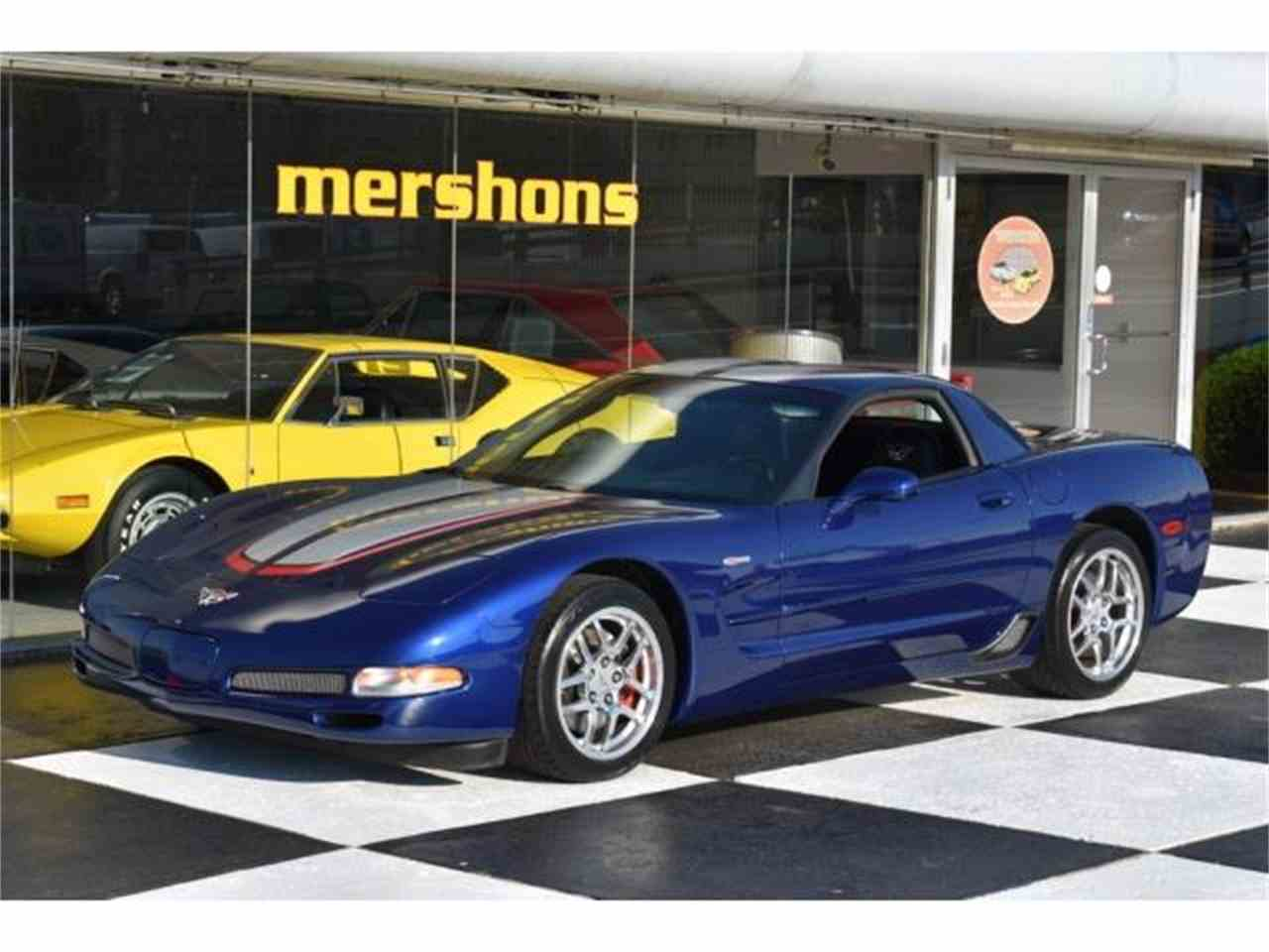 2004 chevrolet corvette z06 for sale cc 995895. Black Bedroom Furniture Sets. Home Design Ideas