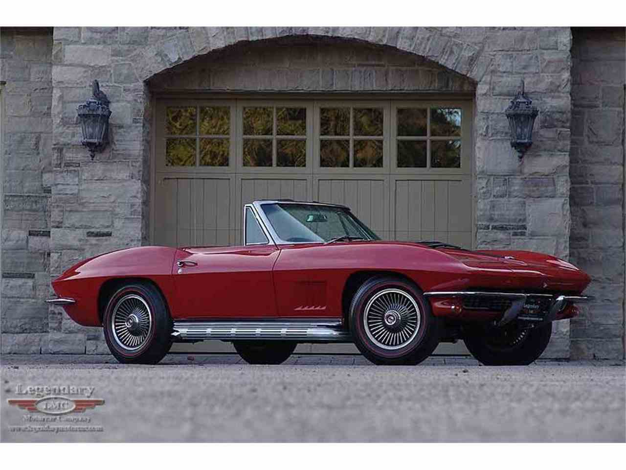 Large Picture of Classic 1967 Corvette located in Halton Hills Ontario Offered by Legendary Motorcar Company - LCGK