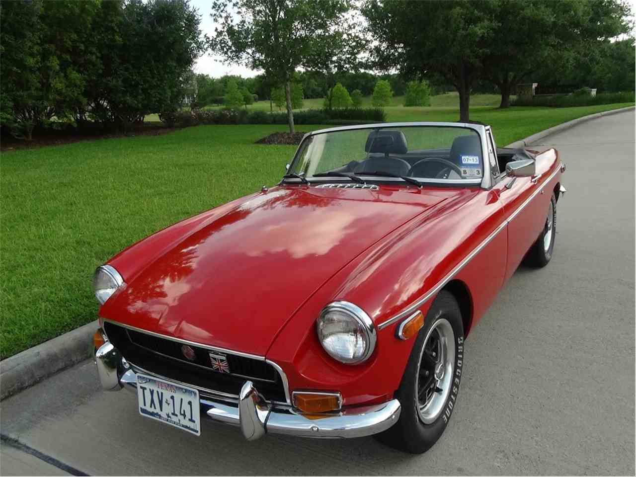 Cars For Sale In Houston: 1971 MG MGB For Sale