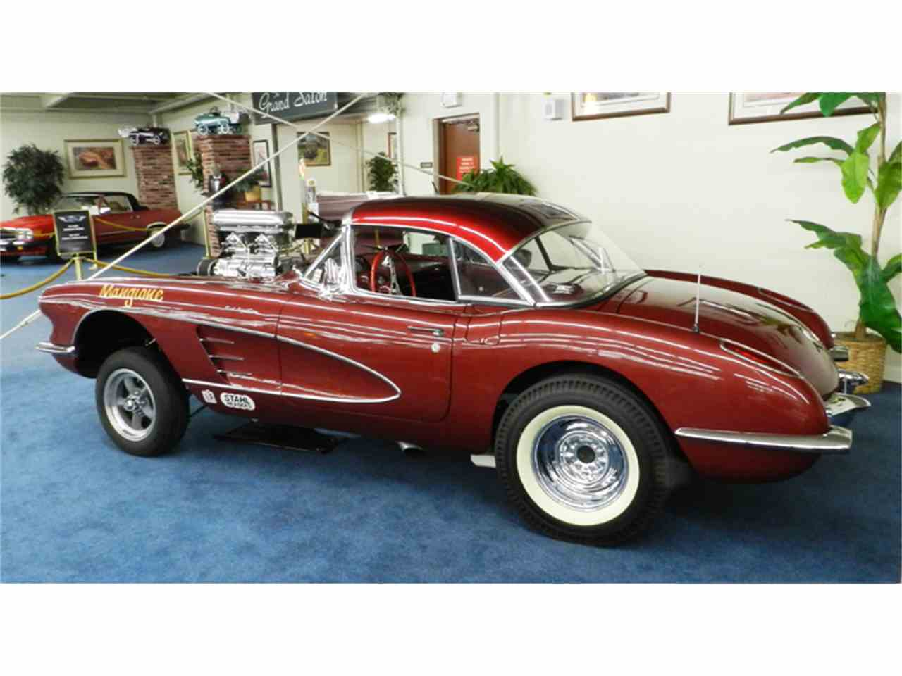 1959 chevrolet corvette gasser for sale cc 996080. Black Bedroom Furniture Sets. Home Design Ideas